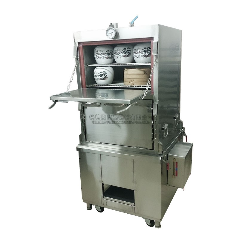 Commercial Stainless Steamer Stove